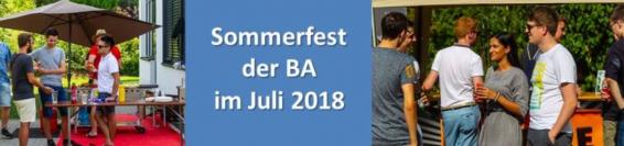 Sommerfest Juli 2018